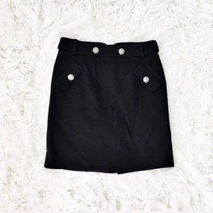 Club Monaco wool pencil skirt